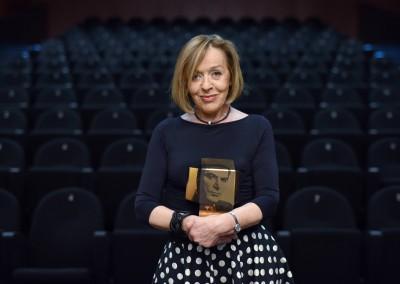 Nagrado bert za življenjsko delo na področju filmske igre prejme Milena Zupančič