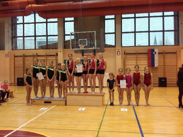 Gimnastično tekmovanje