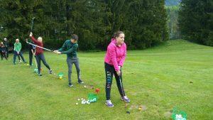Naši učenci so igrali golf na terenih Golf kluba Kranjska Gora