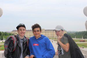Ekskurzija učencev na Dunaj
