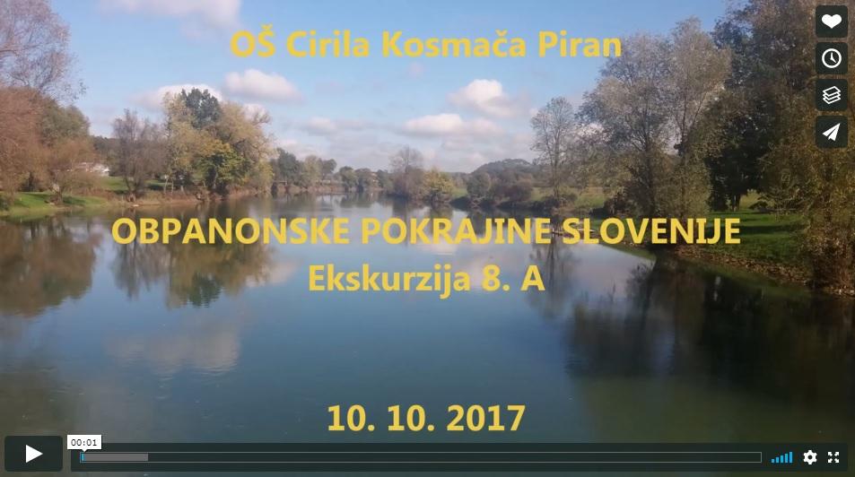 video: Obpanonske pokrajine Slovenije – ekskurzija 8.a
