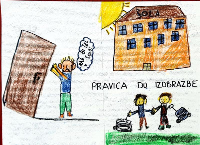 Dan dejavnosti v 4. a – otrokove pravice