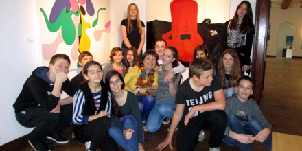 Likovno snovanje na razstavi Slovenske moderne umetnosti