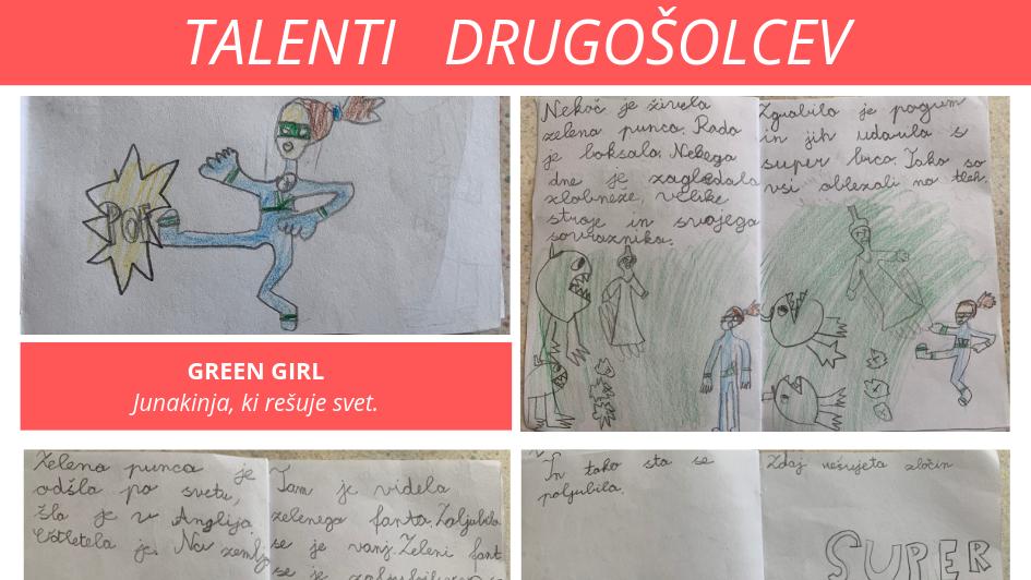 Talenti drugošolcev