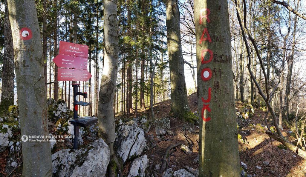 2. planinski pohod – Radojč