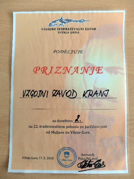 Državni tekmovanji v poznavanju dela in življenja Josipa Jurčiča in Višnja Gora ima talent