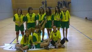 Odbojka 2015 dekleta – predtekmovanje, polfinale in finale