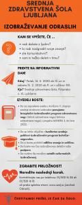 Obvestilo o informativnem dnevu v izrednem izobraževanju