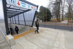 Podvoz Ljubljanska: Novi peron neprijazen do invalidov