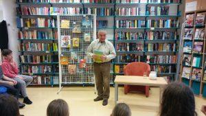 Obiskal nas je pesnik in pisatelj Andrej Rozman – Roza