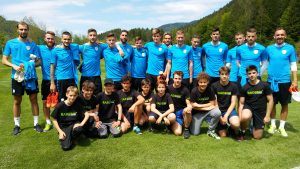 Naši učenci z nogometno reprezentanco Slovenije
