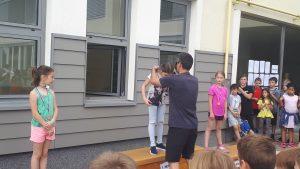 Naši učenci iz 4. in 5. razreda so uspešno nastopili na atletskem tekmovanju