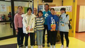 Obisk mladih kitajskih smučarskih skakalk