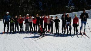 V Planici poteka tečaj teka na smučeh za učence iz 6. razreda