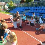 Trenerji iz športne dvorane Vitranc so skupaj z Denisom Porčičom Čorčipom predstavili Street work vadbo