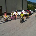 Predzadnji in zadnji teden pouka smo veliko kolesarili