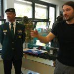 Ogled razstave Združenja veteranov vojne za Slovenijo