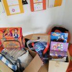 Donacija anonimnega donatorja naši šoli