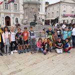 Petošolci so v poletni šoli v naravi v Pineti pri Novigradu na Hrvaškem