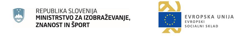 Projekt »Prva zaposlitev na področju vzgoje in izobraževanja 2021«