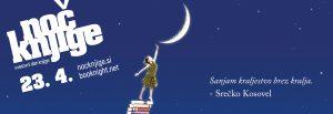 Noč knjige 2021 – Sanjam svet