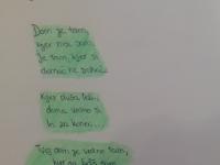 1. 2. 2021 – Devetošolki Tia in Nika pišeta pesmi
