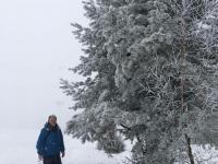 13. 1. 2021 – Učitelj Tone si je privoščil pravo zimsko idilo …