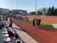 16. 4. 2019 – 6. in 7. razredi se pomerili v atletskem peteroboju