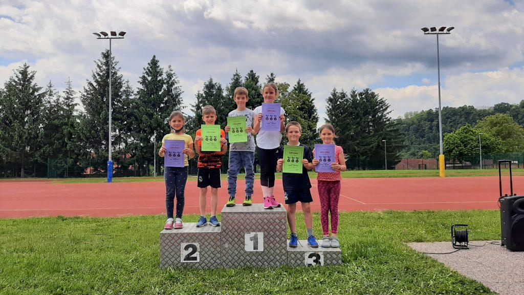 17. 6. 2021 – Atletski troboj za najmlajše