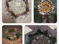 23. 3. 2020 – Mandala iz naravnih materialov