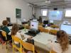 Utrinki z delavnic v Mladinskem tehnološkem raziskovalnem centru 404